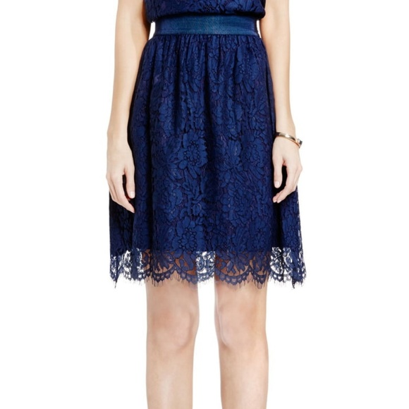 Vince Camuto Dresses & Skirts - Vince Camuto Scallop Lace Full A-Line Skirt
